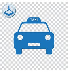 Taxi icon for web and mobile vector