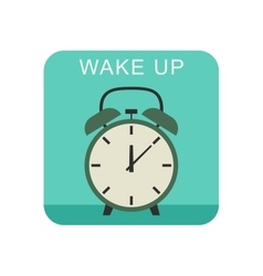 Wake up icon vector image