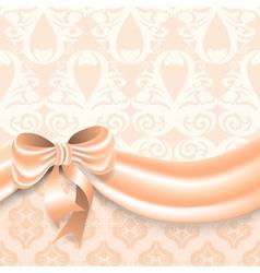 Elegant greeting card vector image