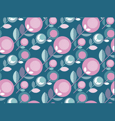 Concept simple floral seamless pattern for vector