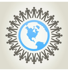 World of people vector image vector image