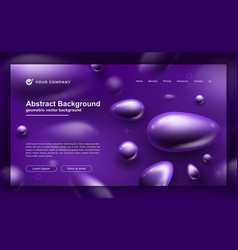 abstract liquid fluid background for your web page vector image