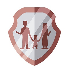 family insurance design vector image