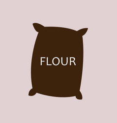 Flour icon vector