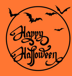 Happy halloween design elements halloween design vector