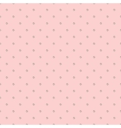 Little butterflies on pale pink background vector image