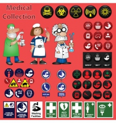 Medical collection vector