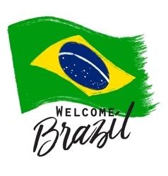 National brazil flag vector