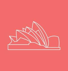 Opera House vector image