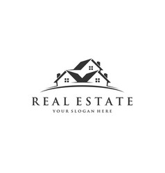 real estate logo inspirations vector image