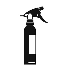 Sprayer black simple icon vector image vector image