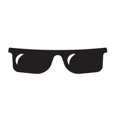 sunglasses isolated on a white background vector image