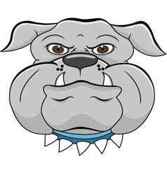head dog vector image vector image