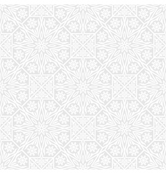 Seamless background with traditional ornament vector image