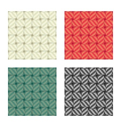 textile seamless pattern vector image vector image