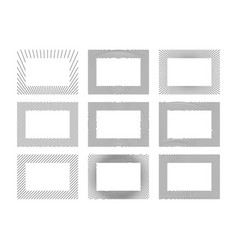 abstract frames collection vector image