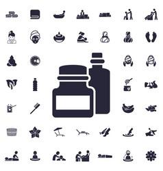 Bottle icon vector