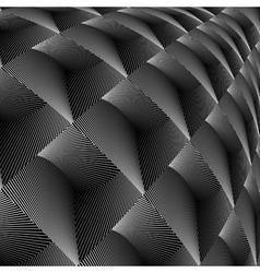 Design diamond concave texture vector