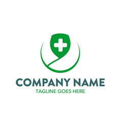 medical logo vector image
