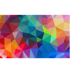 polygon multicolor background vector image