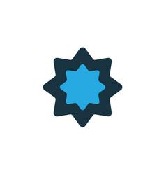 rub el hizb colorful icon symbol premium quality vector image