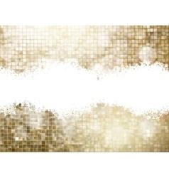 Golden background of sparkling sequins EPS 10 vector image vector image