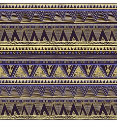 Seamless Ethnic Geometric Knitted Pattern Violet vector image vector image