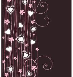 hearts vector image vector image