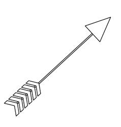 Arrow archery icon image vector