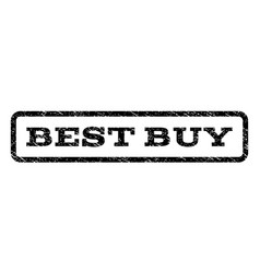 best buy watermark stamp vector image