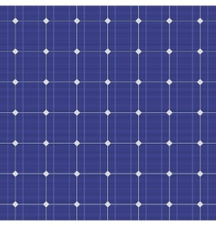 Blue electric solar panel seamless pattern vector