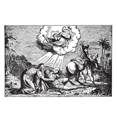 Conversion of paul - saul falls to the ground vector