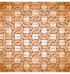 Grunge pattern with knitting vector