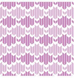 Knitted weave design horizontal stripes vector