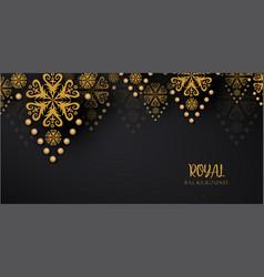 Luxury royal golden backgrounds vector