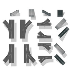 Map design elements vector