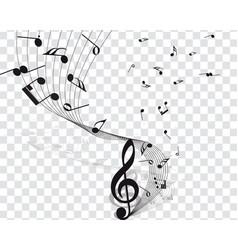 musical designs vector image