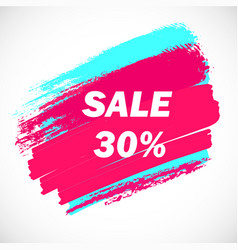 Sale-blue-pink-one vector