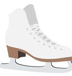 Figure skate vector image vector image