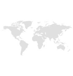 World global vector image vector image