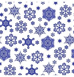 Snowfall pattern vector