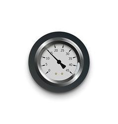 a pressure meter gauge vector image