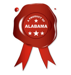 a product of alabama vector image