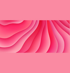 Abstract background wave motion flow yellow vector