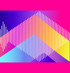 abstract colorful gradient background modern vector image