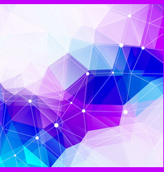 Abstract polygonal background and copy space low vector