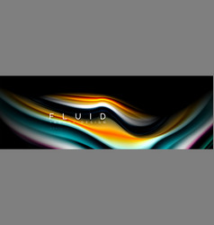 creative line art banner background abstract vector image