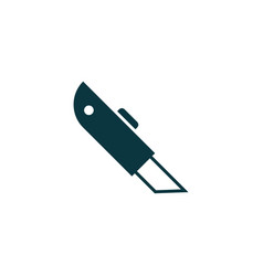 cutter icon simple vector image