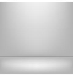 Empy gray interior vector