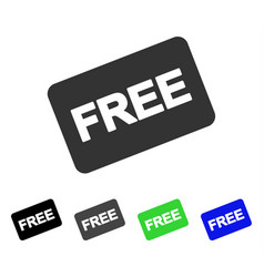 Free card flat icon vector